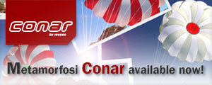 Conar Metamorfosi by Moyes Reserve Parachutes