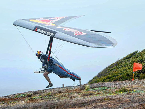 Jonny taking off