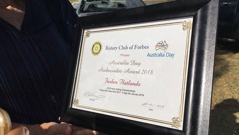 Forbes Ambassador Award